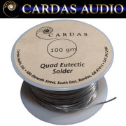 New in from Cardas, quad eutectic solder