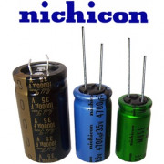 Nichicon Capacitors have landed