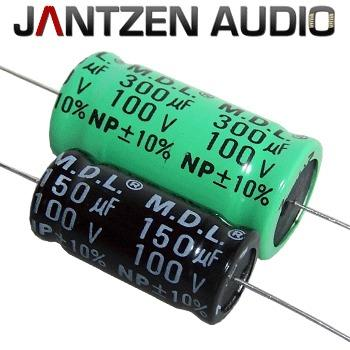 We now offer more choice of bi-polar electrolytics especially suited to loudspeaker crossover use with these low cost caps from Jantzen.
