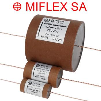 Miflex Copper Foil KPCU-03 250Vdc rated