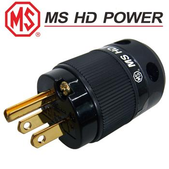 MS HD Power MS515G US mains plug, Gold plated
