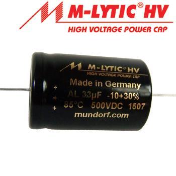 Mundorf New Axial HV caps
