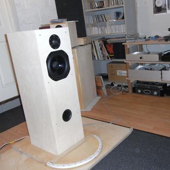 Speaker Kit In Testing
