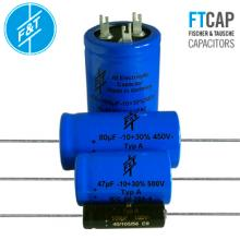 F&T Capacitors: New Values In Stock