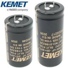 Kemet Slit Foil Electrolytics
