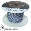 2 x 34 AWG Cardas Clear Tonearm Wire - BLUE / WHITE, 50cm
