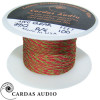 2 x 34 AWG Cardas Clear Tonearm Wire - RED / GREEN, 50cm