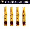 Cardas PCC EG Cartridge Clips, Brass, Gold plate (set of 4)