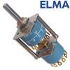 ELMA 4 pole 6 way switch, 01-2263