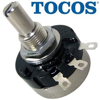 1K Tocos Cosmos Audio Log Mono Potentiometer (RV24, type B)