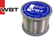 WBT-0840 4% silver solder, 1.2mm diameter, 500g reel