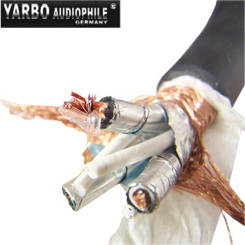 YARBO AUDIO 3 core pure Mono-crystal copper power cable